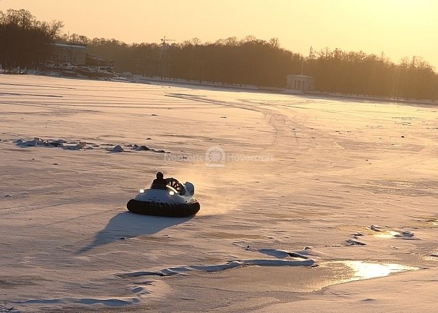 Recreational Hovercraft in Russia