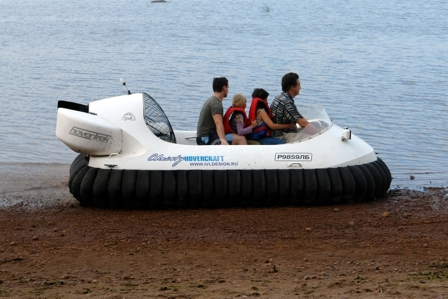 Hovercraft Operation on Saltwater