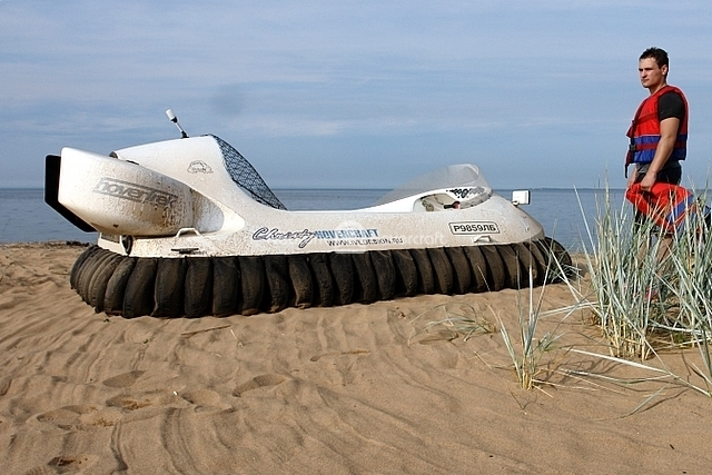 Hovercraft Operation on Salt Water