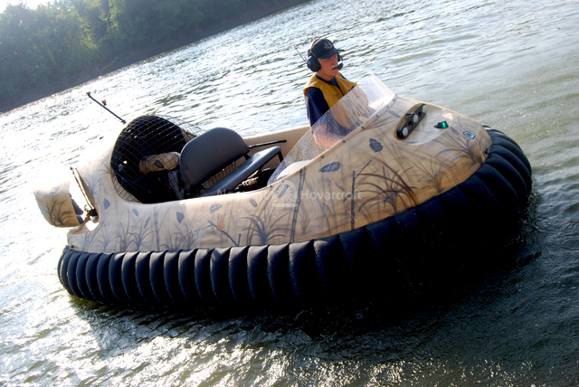 Advantage Wetlands Camouflage Hovercraft Design