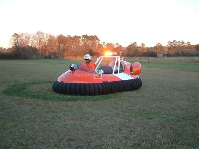 Recreational Hovercraft, Tennessee USA