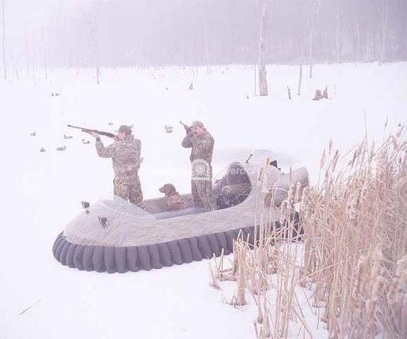 Neoteric Hovercraft for Duck Hunting