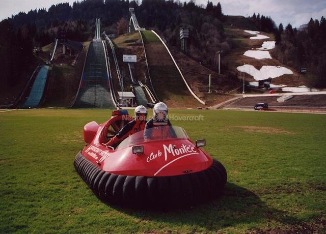 Hovertrek on Austrian Ski Slopes