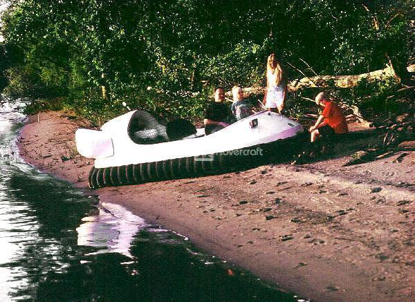 Family Recreation Hovercraft