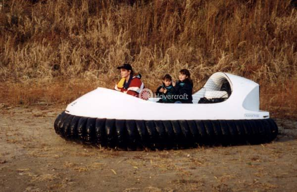 Four Passenger Recreational Hovercraft