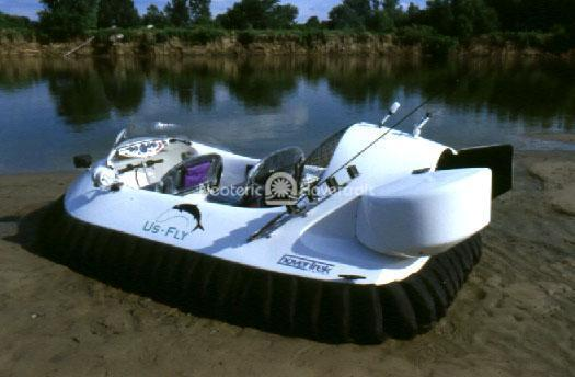 Recreational Hovercraft for Fly Fishing