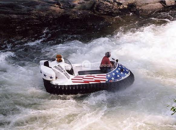 Hovertrek Takes on Class 5 Rapids