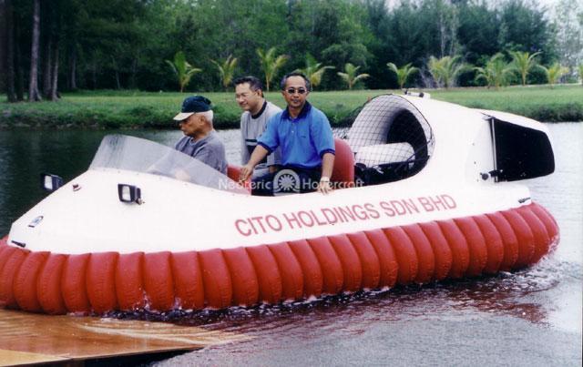Recreational Hovercraft, Pahang, Malaysia