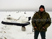 Image Safe ice fishing Hovercraft