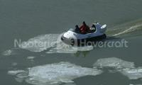 Picture Recreational Hovercraft on thin ice Finland =