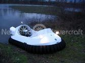 Image Recreational Hovercraft navigate floodwaters