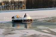 Image Recreational Hovercraft on ice