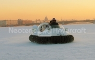 Hovercraft picture Russia St. Petersburg Harbor