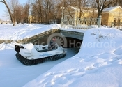 Photo Hovercraft in Russia on ice