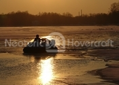Image Hovercraft on thin ice Russia