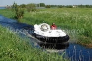 Image Hovercraft in Tidal estuary