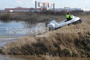 Image Hovercraft demonstration Russian media
