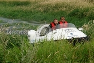 Image Hovercraft in tall grass