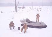 Ice fishing Hovercraft image