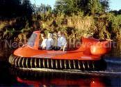 Image Red Recreational Hovercraft Deluxe