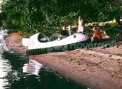 Picture Family Recreation Hovercraft