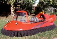 Photo Red Personal Hovercraft Recreational
