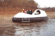 Recreational Hovercraft image panniers fitted