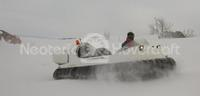 Image Recreational Hovercraft on snow Finland