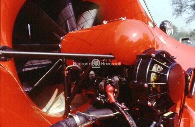 Hovercraft Engine Rescue hovercraft engine photo Rupert Grint