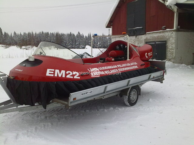 6-Passenger Rescue Hovercraft in Finland
