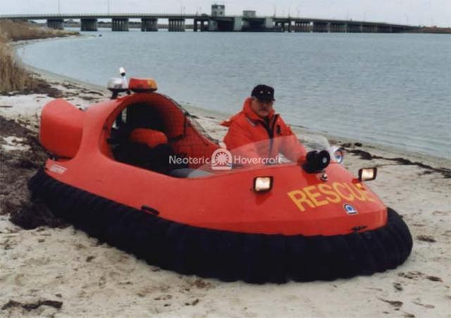 Rescue Hovercraft, Mastic Beach Fire Department, USA