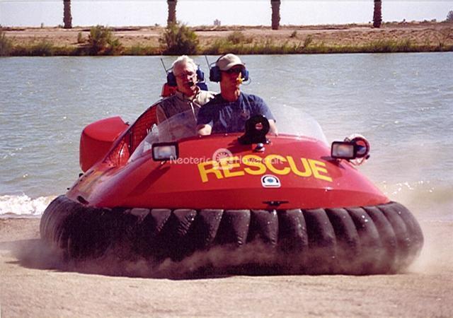 Rescue Hovercraft, California Border Patrol, USA
