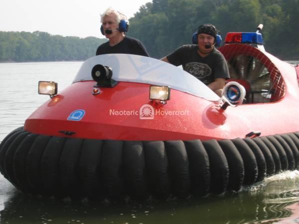 Rescue Hovertrek Testing