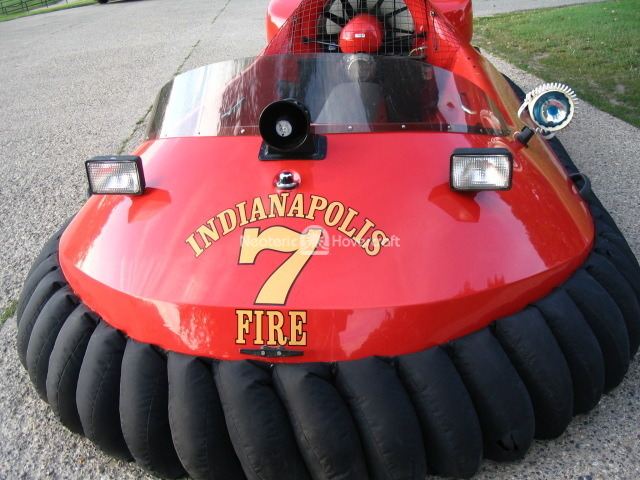 Indianapolis Fire Department rescue hovercraft image: Neoteric Hovercraft, Inc.
