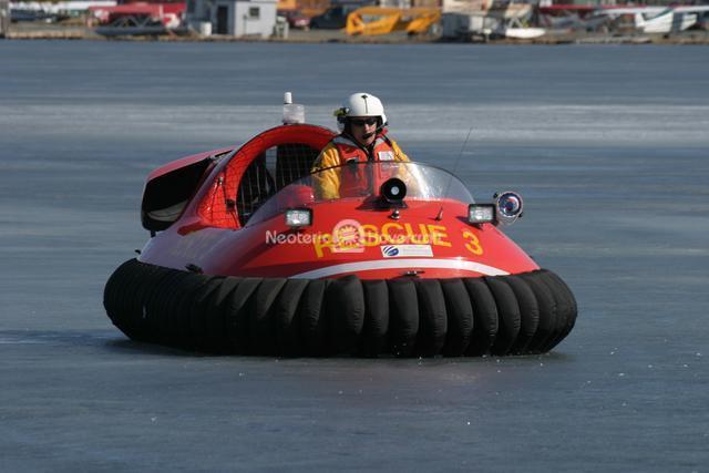 Ice Rescue Maneuvering