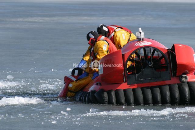 Practice Ice Rescue Retrieval