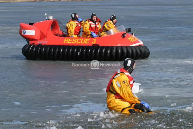 Rehearsal of Ice Rescue Procedures