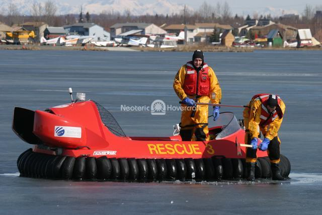 Developing Ice Rescue Techniques