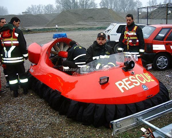 Rescue Hovercraft, Ministero Dell'Interno, Lodi, Italy