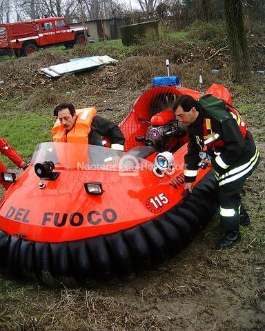 Rescue Hovercraft, Ministero Dell'Interno, Rome, Italy