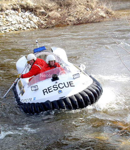 Hovercraft Water rescue photo