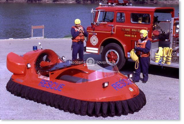 Hovertrek Rescue Hovercraft