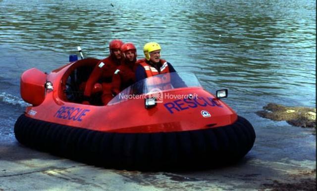 Rescue Hovercraft Pilot Training