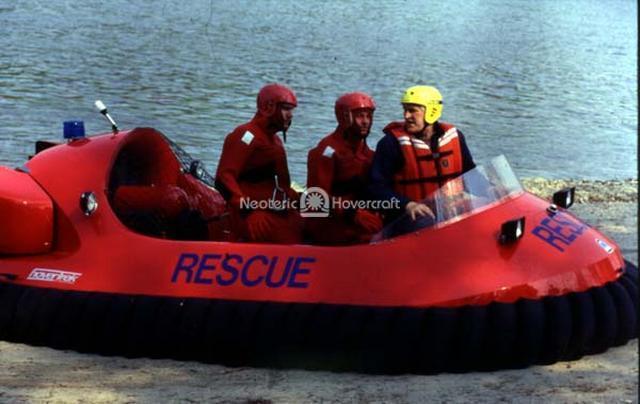 Rescue Hovercraft Flight Training