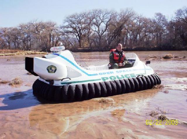 Police Department Rescue Hovercraft, Albuquerque, NM, USA