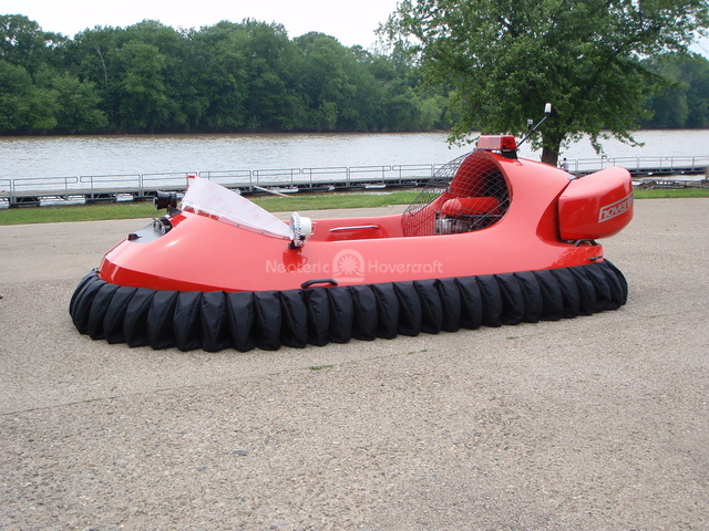 4 Passenger Rescue Hovercraft