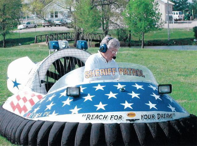 Rescue Hovercraft in Kentucky Crimefighter Program, USA