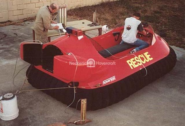 Neoteric Rescue Hovercraft Testing