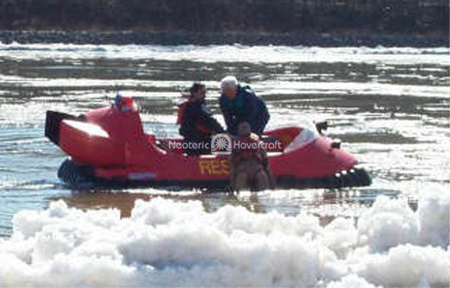 Rescue Hovercraft, Wilkes-Barre Fire Department, USA