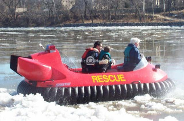 Hovercraft Essential for Water Rescue